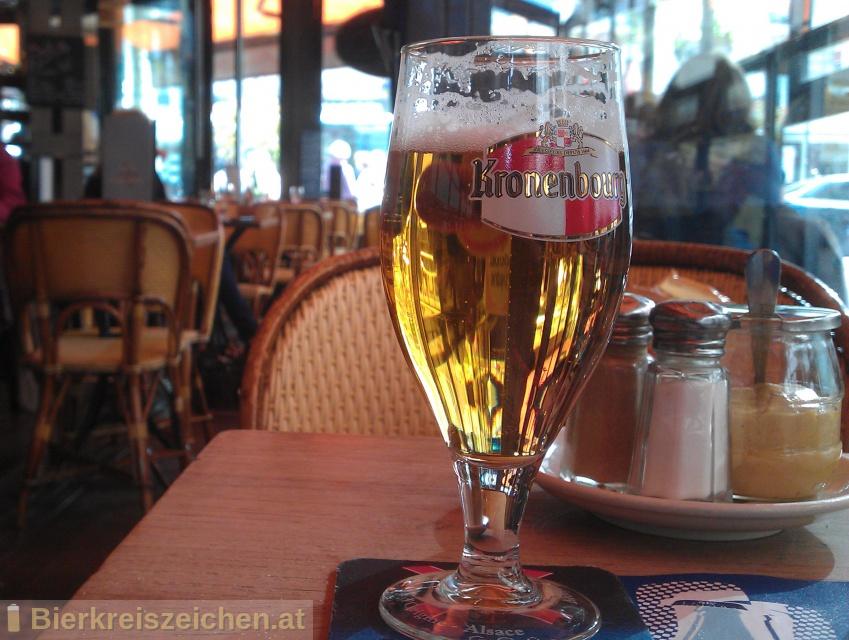 Foto eines Bieres der Marke Kronenbourg aus der Brauerei Brasseries Kronenbourg