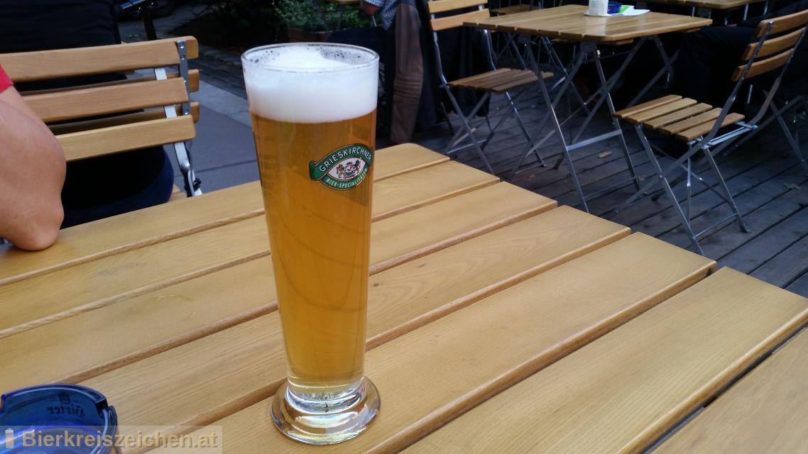 Foto eines Bieres der Marke Grieskirchner Zwickl aus der Brauerei Brauerei Grieskirchen