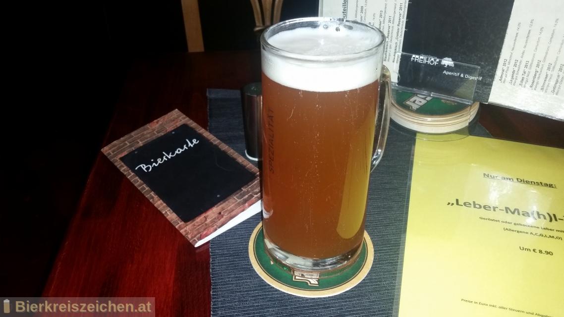 Foto eines Bieres der Marke Kaltenhauser Kellerbier aus der Brauerei Hofbräu Kaltenhausen