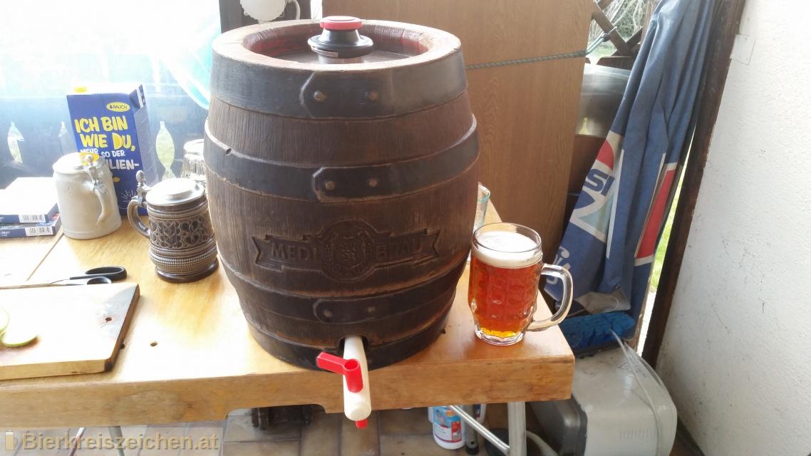 Foto eines Bieres der Marke Märzen aus der Brauerei Medl Bräu