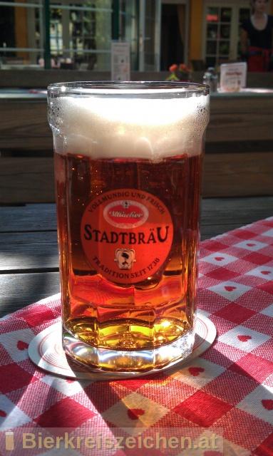 Foto eines Bieres der Marke Villacher Stadtbräu aus der Brauerei Villacher Brauerei