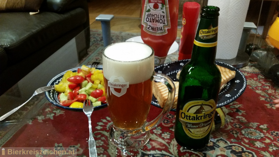 Foto eines Bieres der Marke Ottakringer - Wiener Original aus der Brauerei Ottakringer Brauerei