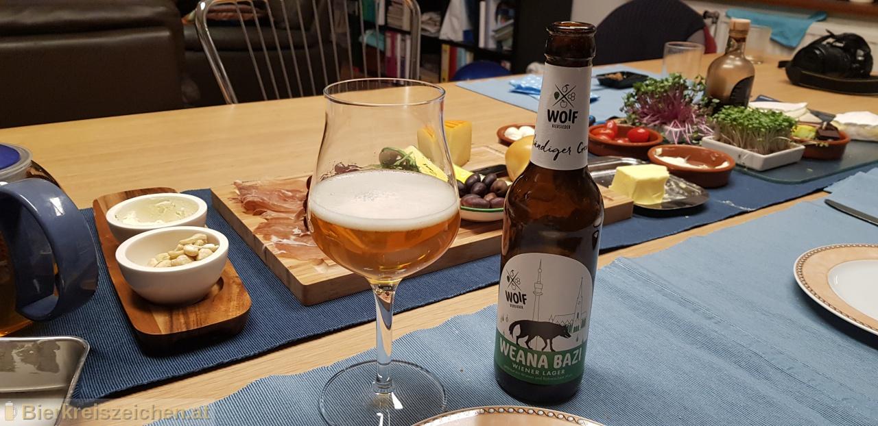 Foto eines Bieres der Marke Weana Bazi aus der Brauerei Woif