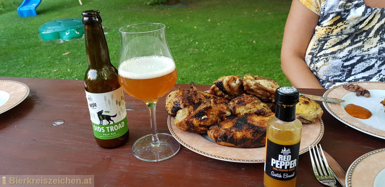 Foto eines Bieres der Marke Oids Troad aus der Brauerei Woif