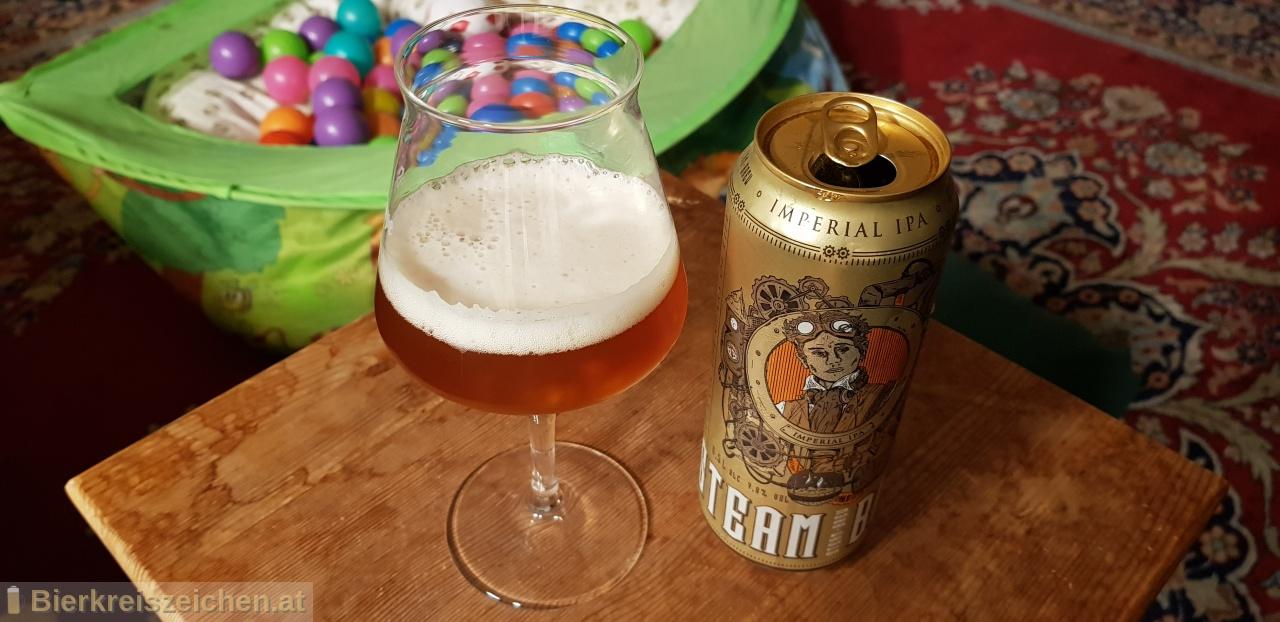 Foto eines Bieres der Marke Steam Brew - Imperial IPA aus der Brauerei Privatbrauerei Eichbaum