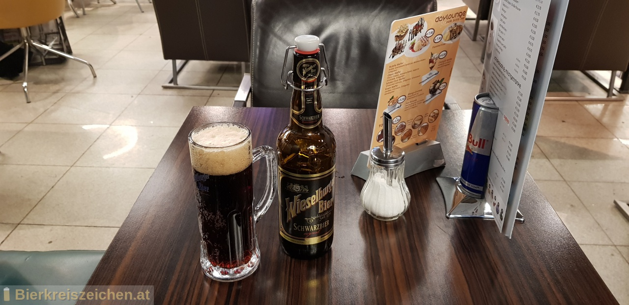 Foto eines Bieres der Marke Wieselburger Schwarzbier aus der Brauerei Brauerei Wieselburg