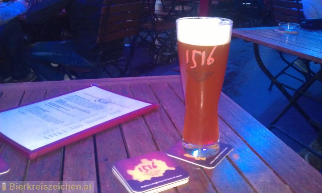 Foto eines Bieres der Marke Victory Hop Devil - Indian Pale Ale aus der Brauerei 1516 The Brewing Company