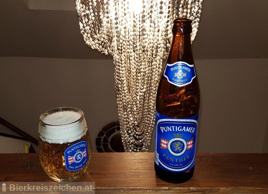 Foto eines Bieres der Marke Puntigamer Panther aus der Brauerei Brauerei Puntigam