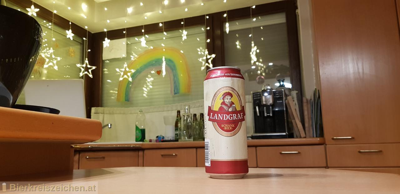 Foto eines Bieres der Marke Landgraf - Schankbier aus der Brauerei Delikatessa