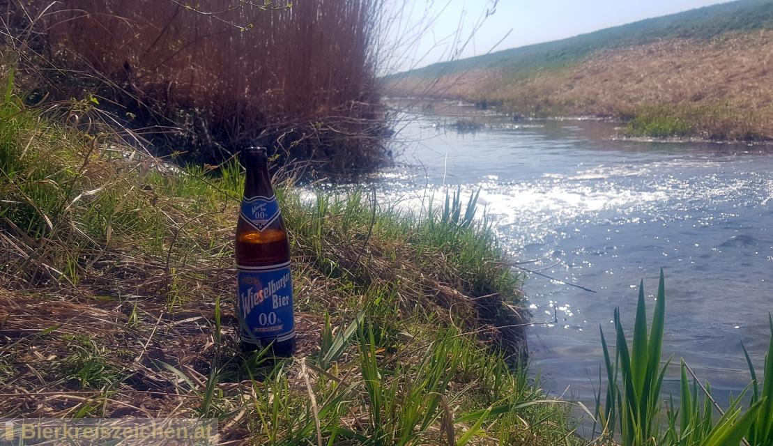 Foto eines Bieres der Marke Wieselburger 0,0 aus der Brauerei Brauerei Wieselburg