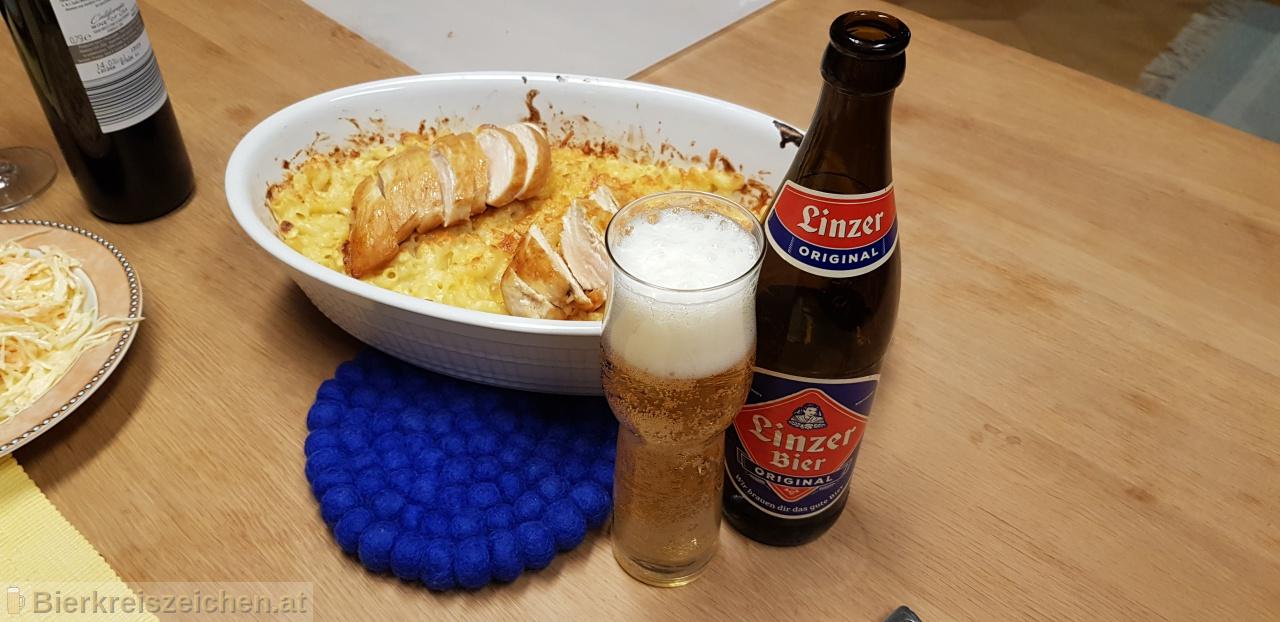 Foto eines Bieres der Marke Linzer Bier aus der Brauerei Brauerei Zipf