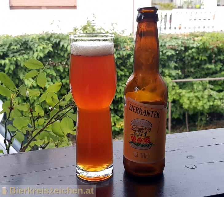 Foto eines Bieres der Marke 1'er Menü aus der Brauerei Bierkanter