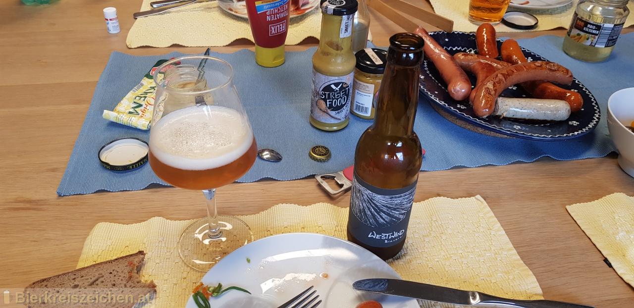 Foto eines Bieres der Marke Westwind aus der Brauerei Westwindbrauerei