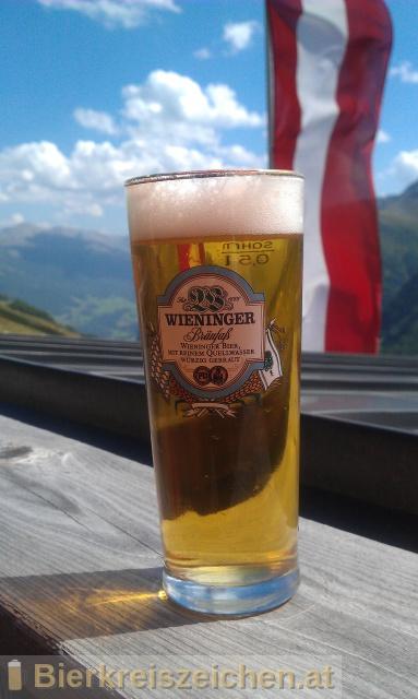 Foto eines Bieres der Marke Wieninger Bräufass aus der Brauerei Wieninger Bier