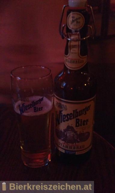 Foto eines Bieres der Marke Wieselburger Stammbräu aus der Brauerei Brauerei Wieselburg