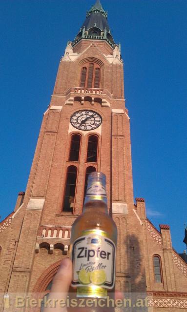 Foto eines Bieres der Marke Zipfer Limetten Radler aus der Brauerei Brauerei Zipf