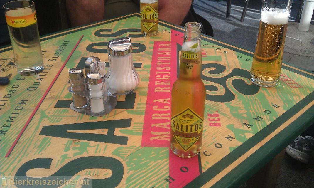 Foto eines Bieres der Marke Salitos Imported Cerveza aus der Brauerei Salitos