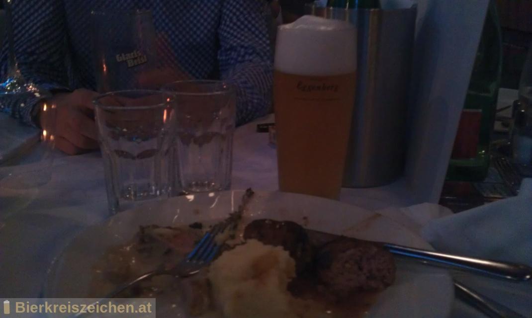 Foto eines Bieres der Marke Schloss Eggenberg - naturtrüb aus der Brauerei Brauerei Schloss Eggenberg