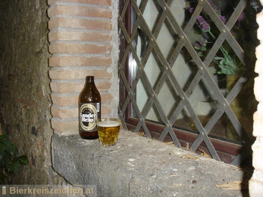 Foto eines Bieres der Marke Lander Bräu (Italia) aus der Brauerei Birra Peroni S.p.A.