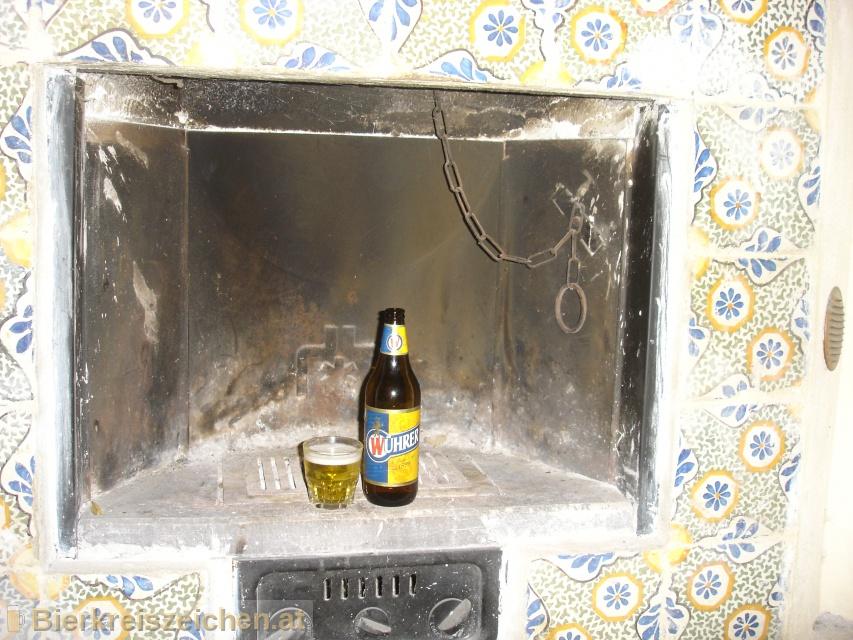 Foto eines Bieres der Marke Wührer aus der Brauerei Birra Peroni S.p.A.