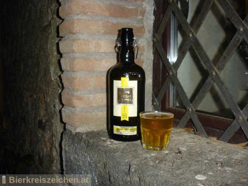 Foto eines Bieres der Marke Cotta 21 aus der Brauerei Mastri Birrai Umbri