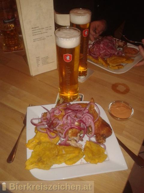Foto eines Bieres der Marke Fohrenburger Pils aus der Brauerei Fohrenburger