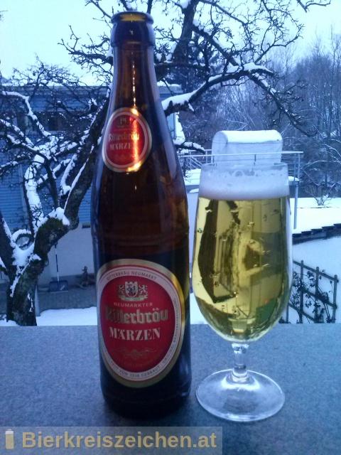 Foto eines Bieres der Marke Ritterbräu Märzen aus der Brauerei Ritterbräu Neumarkt