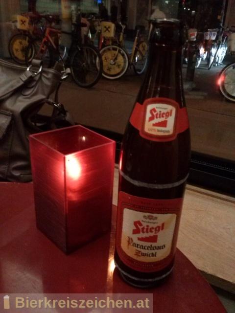 Foto eines Bieres der Marke Stiegl Paracelsus Bio-Zwickl aus der Brauerei Stieglbrauerei