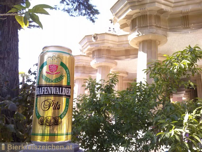 Foto eines Bieres der Marke Grafenwalder Pils aus der Brauerei Frankfurter Brauhaus