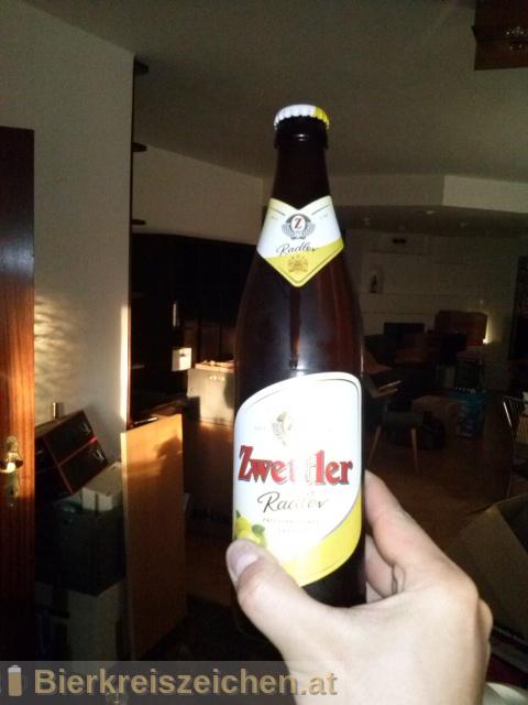 Foto eines Bieres der Marke Zwettler Radler aus der Brauerei Privatbrauerei Zwettl