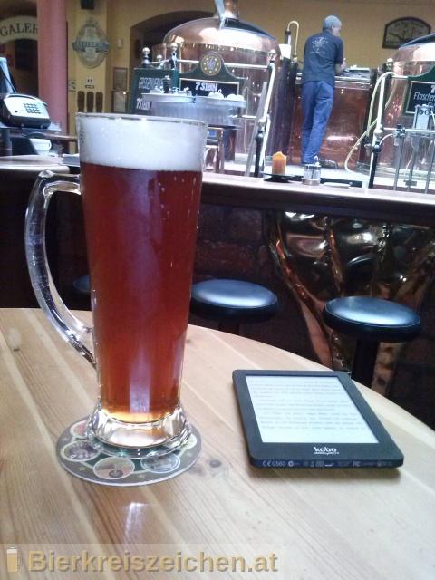 Foto eines Bieres der Marke 7Stern India Pale Ale aus der Brauerei Siebenstern Bräu