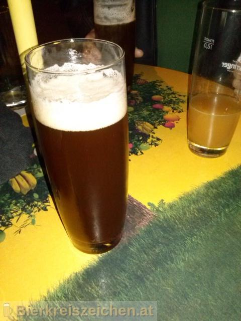 Foto eines Bieres der Marke Bierzauberei Red Alien Ale aus der Brauerei Bierzauberei®