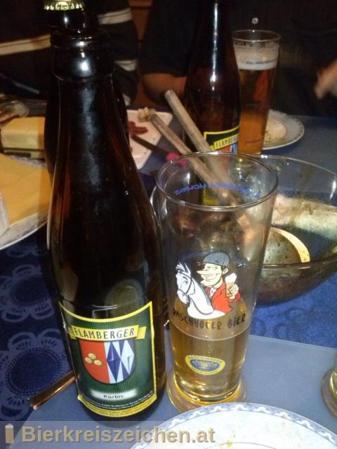 Foto eines Bieres der Marke Flamberger Kürbis aus der Brauerei Brauerei Flamberger
