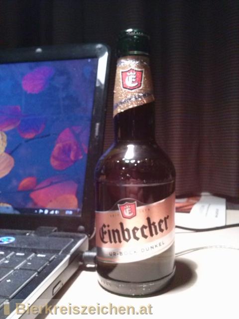 Foto eines Bieres der Marke Einbecker Ur-Bock Dunkel aus der Brauerei Einbecker Brauhaus
