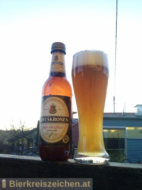 Foto eines Bieres der Marke Adelskronen Hefe-Weißbier aus der Brauerei Brauerei Braunschweig