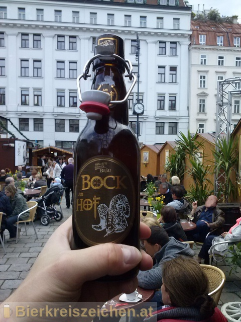Foto eines Bieres der Marke Bock am Hof aus der Brauerei Speck Standl Bräu