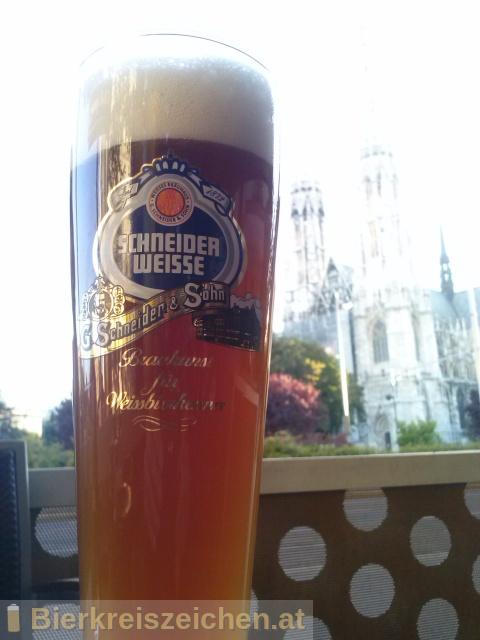 Foto eines Bieres der Marke TAP1 - Meine blonde Weisse aus der Brauerei Schneider Weisse
