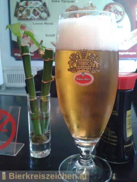 Foto eines Bieres der Marke Villacher Märzen aus der Brauerei Villacher Brauerei