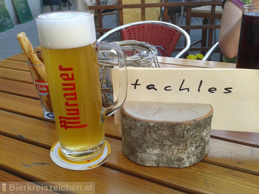 Foto eines Bieres der Marke Murauer Zwickl aus der Brauerei Brauerei Murau