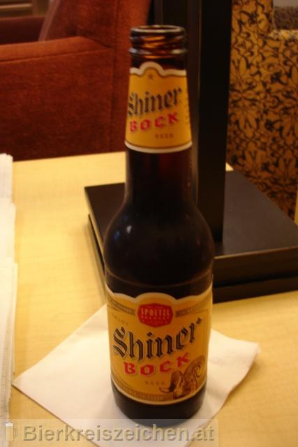 Foto eines Bieres der Marke Shiner Bock aus der Brauerei Spoetzl Brewery
