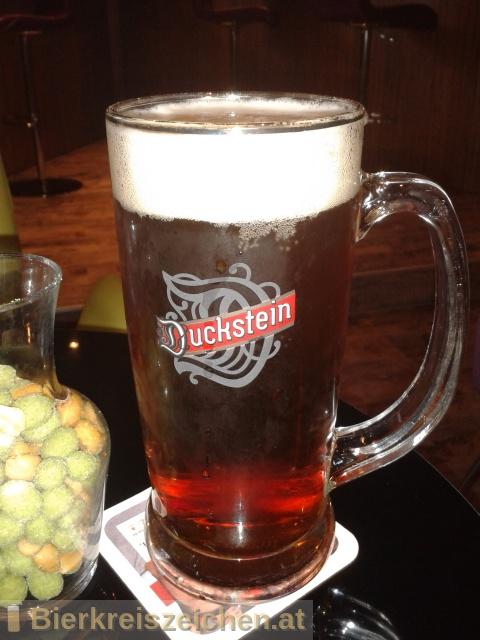 Foto eines Bieres der Marke Duckstein Original aus der Brauerei Mecklenburgische Brauerei Lübz GmbH