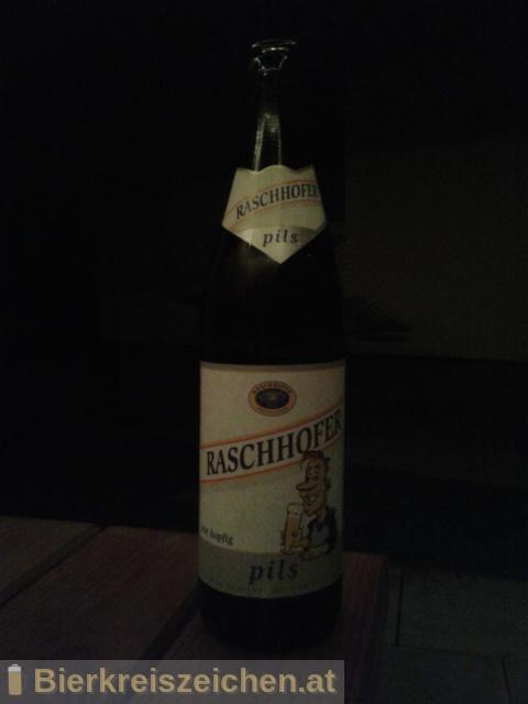 Foto eines Bieres der Marke Raschhofer Pils aus der Brauerei Brauerei Raschhofer