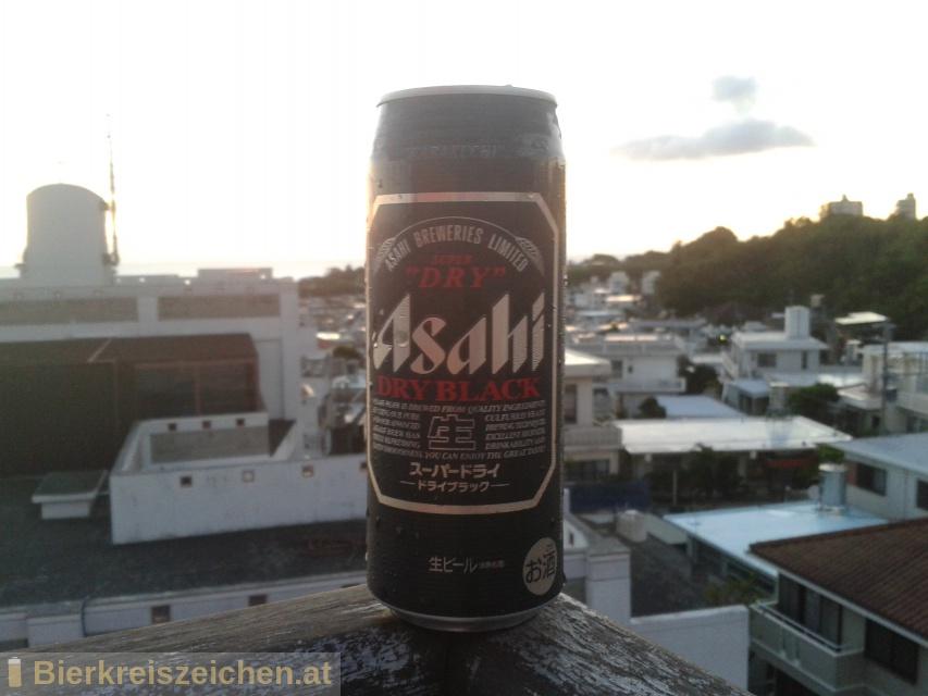 Foto eines Bieres der Marke Asahi Black / Asahi Kuronama aus der Brauerei Asahi Bīru Kabushiki-gaisha