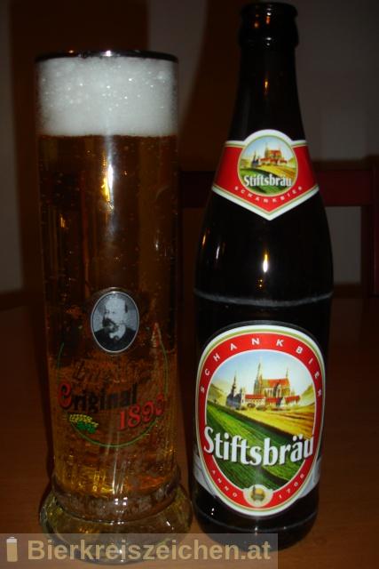 Foto eines Bieres der Marke Zwettler Stiftsbräu aus der Brauerei Privatbrauerei Zwettl