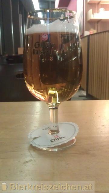 Foto eines Bieres der Marke Gilde Ratskeller aus der Brauerei Gilde Brauerei AG