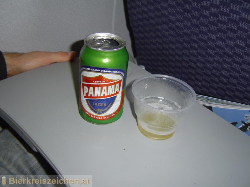 Foto eines Bieres der Marke Panama Lager aus der Brauerei Cervecerias Baru-Panama