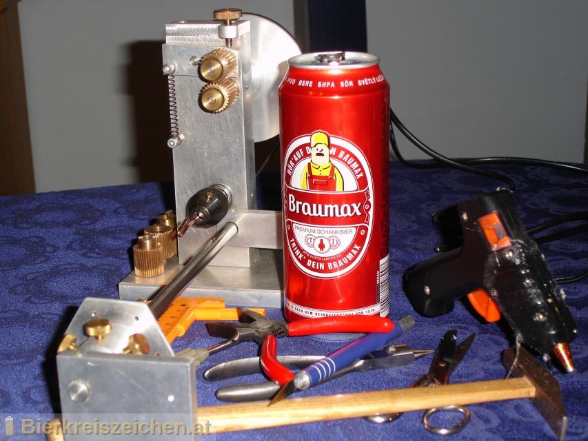 Foto eines Bieres der Marke BrauMax Premium Schankbier aus der Brauerei Privatbrauerei Egger