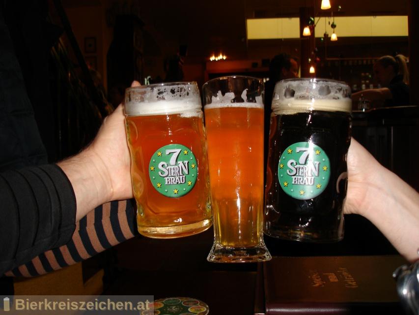 Foto eines Bieres der Marke 7Stern Chilli aus der Brauerei Siebenstern Bräu