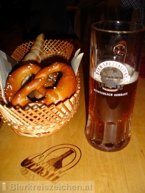 Foto eines Bieres der Marke Gerstl Bräu aus der Brauerei Gerstl Bräu
