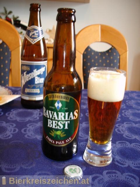 Foto eines Bieres der Marke Bavarias Best - India Pale Ale aus der Brauerei Privaten Landbrauerei Schönram